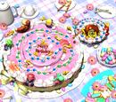 Peach's Birthday Cake