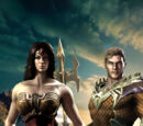 La Mujer Maravilla y Aquaman: Los Dioses del Mundo