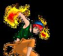 - Le démon du feu - Sarad Col