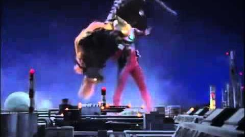 Ultraman Gaia vs. Izac-0
