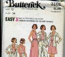 Butterick 3162 D