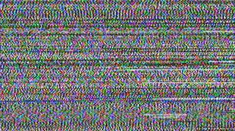 Static (according to a digital television tuner)