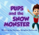 Pups and the Snow Monster/Images