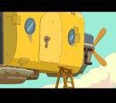 Zeppelin del Rey de Ooo