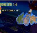 Land Before Time Wiki/Fanfiction/The Land Before Time 14: Escape 2 New York City