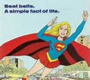 DC COMICS: Super Friends Supergirl Buckle Up Commerical