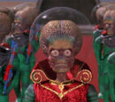 Mars Attacks! aliens