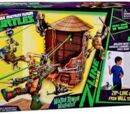 Z-Line Ninjas Water Tower Washout Deluxe Playset (2014 toy)