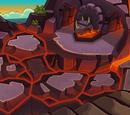 Entrada al Volcán