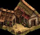 Dom kryty strzechą