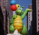 First Balloon in the Parade until Not Seen in the Parade