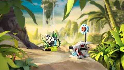 LEGO Chima - 70107 Atak skunksa