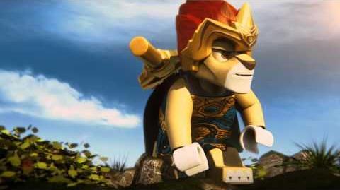 LEGO Chima prezentacja głównego bohatera - młodego księcia Lavala