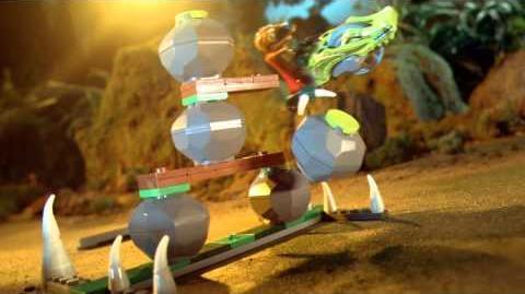 LEGO Chima - reklama TV prezentująca zestawy Speedorz