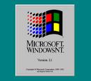 Windows NT 3.x