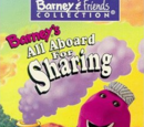 Barney's All Aboard for Sharing (VHS)