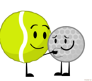 Tennis Ball & Golf Ball