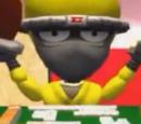 Yellow Hagakure Ninja