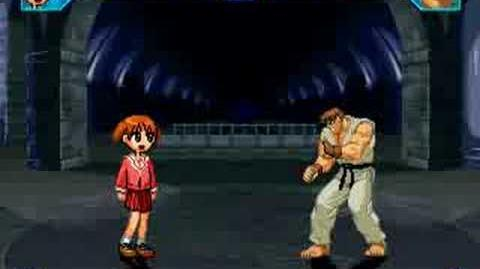 Slightly Pissed Off Ryu