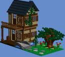 Domek nad rzeką