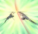 Hiei vs Raigo