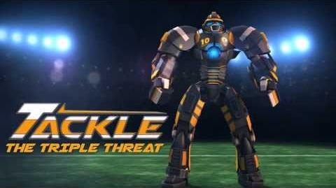REAL STEEL Introducing - TACKLE 'The Triple Threat!' - Available Now!