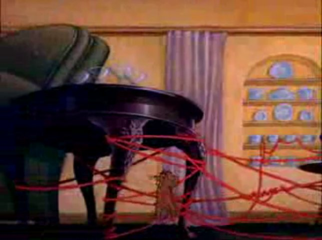 Tom And Jerry - 005 - Dog Trouble (1942) mpeg4