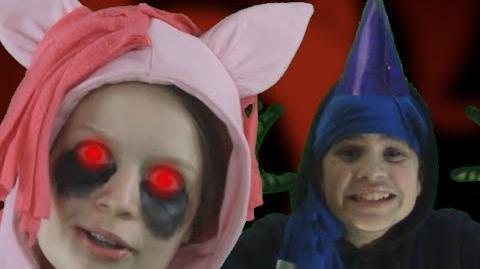 Cupcakes vs Luna Game. Epic Rap Battles of Creepypasta 8