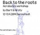 Akrobatik Workshopserie in Darmstadt von Bart & Kirsty