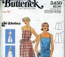 Butterick 5450 B