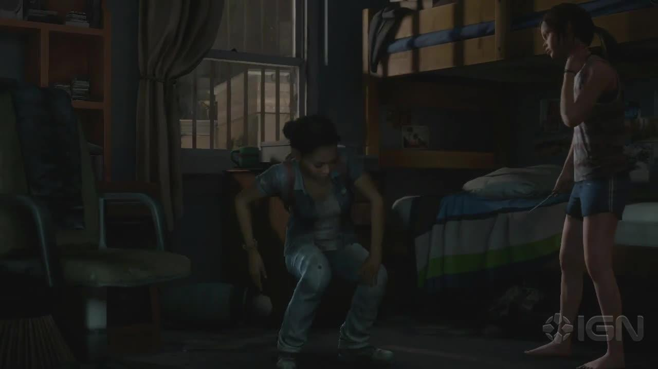 The Last of Us Left Behind Walkthrough - Back in a Flash