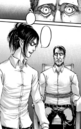 Levi and Hange prepare to torture Djel.png