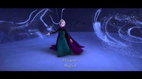 Frozen Una Aventura Congelada - Libre Soy en 25 idiomas
