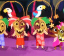 Enchanted Tiki Room characters