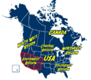 Southwest Region of North America
