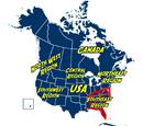 Southeast Region of North America