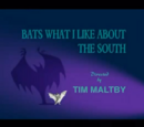 Bats What I Like About the South