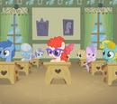 Ponis en edad escolar