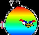 Rainbow bird ( real )