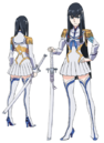 Satsuki Kiryūin body (Junketsu non-active).png