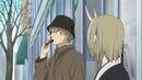 Natsume Yuujinchou - OAD natori eating pokurin choco.jpg