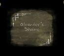 Oleander's Shame