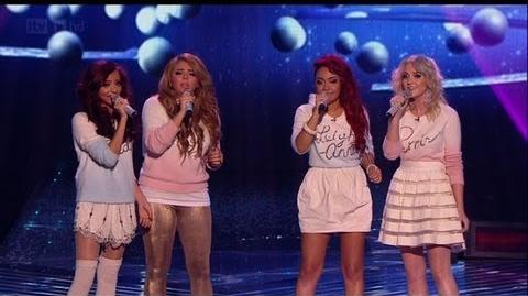 Christmas carols Little Mix stylee! - The X Factor 2011 Live Final - itv.com xfactor