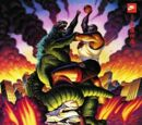 DARK HORSE COMICS: Godzilla vs. Charles Barkley