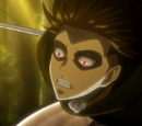 Livaï et Mikasa vs. Titan Féminin