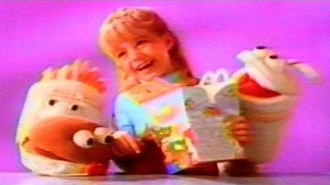 1991 - Commercial - McDonald's Good Morning Happy Meal! - As low as $2.19 plus tax!