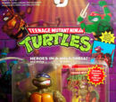 Donatello, with Storage Shell (1990 action figure)