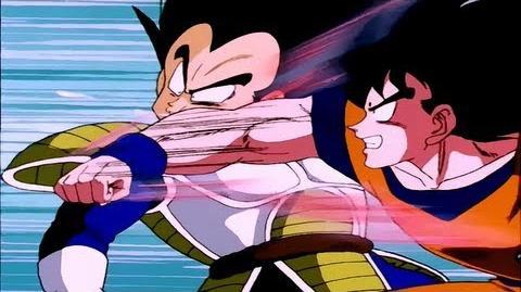 Goku Vs. Vegeta Parte 1 6 (Saga Saiyayin) (Audio Latino) HD