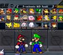 Super Smash Bros. Melee Fighter Select Screen