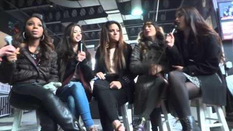 Fifth Harmony Soundcheck Q&A (Camden NJ) 3 1 14